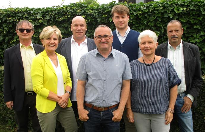 Groepsfoto enkele kandidaten